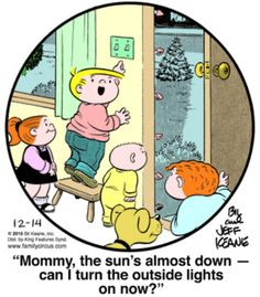 Family Circus for 12/14/2015