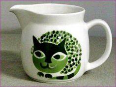 Arabia cat pitcher, 1960s