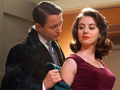 Vincent Kartheiser as Pete Campbell, Allison Brie as Trudy Campbell