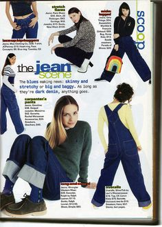 seventeen mag - jeans I used to have the stripe shirt in this page!