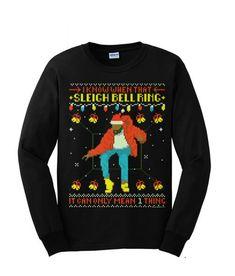 934d58ba8bda Drake Ugly Christmas sweater
