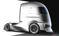 Ford Reveals Futuristic 'F-Vision' Autonomous Truck Concept