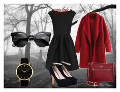 """варави"" by nati-p ❤ liked on Polyvore featuring Boutique Moschino, Larsson & Jennings and Kate Spade"