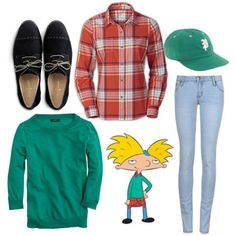 arnold fall outfits hey arnold