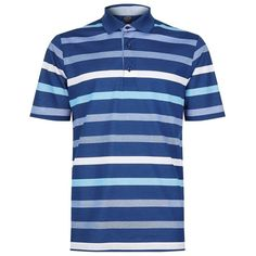 Paul & Shark Striped Polo Shirt ($210) ❤ liked on Polyvore featuring men's fashion, men's clothing, men's shirts, men's polos, faded glory men's shirts, mens sports t shirts, men's breton stripe shirt, mens sport shirts and mens polo shirts