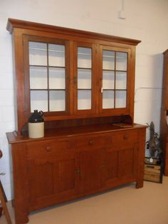 Antique Shaker Cherry Wood Hutch By Cocoasvintagevillage On Etsy 2800 00