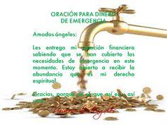 ORACIÓN PARA CUANDO NECESITES DINERO DE URGENCIA #UniversoDeAngeles