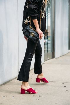 4 Ways To Style Leather Kick Flares