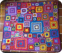 Équino Rêv' *** Handmade***: *** La Babette Blanket de Mémé ***