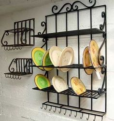 """Awesome """"metal trees"""" information is offered on our website. Check it out and you wont be sorry you did. Iron Furniture, Kitchen Furniture, Kitchen Decor, Kitchen Design, Kitchen Rack, Kitchen Storage, Wrought Iron Decor, Iron Art, Interior Decorating"""