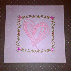 "Gefällt 13 Mal, 1 Kommentare - 🌼 Candy Michaelis 🌼 (@candysidee) auf Instagram: ""Kartenbastelei 🌸💗 #cards #card #cardmaking #scrapbook #scrapbooking #paper #papercraft #love…"""