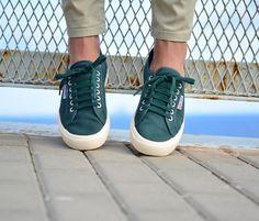official photos 78ed8 a72d5 amorshoes-superga-2750-green-pine-verde-pino14 Zapatillas, Calzas