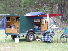 Aussie homemade camping trailer - from Expedition Portal.