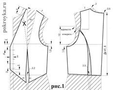 How to sew a vest? Pattern of women's vest