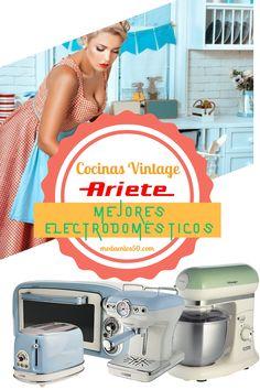 Las Mejores cocinas Vintage Dashboards, Cuisine Vintage, Kitchens, Get Well Soon