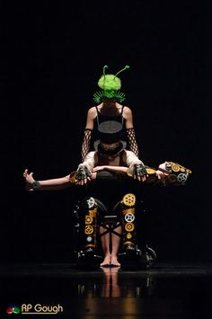 "Gregory Hancock Dance Theatre    PINOCCHIO - A spectacular and dark version set in a ""Steampunk"" world featuring beautiful trios an duets with Gepetto (in a wheelchair) the Cricket and Pinocchio.  A cautionary tale of bad and good that can occur with the choices we make."