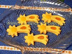 Citrónové kométky so Solamylom Christmas Cookies, Sugar, Cooking, Desserts, Food, Lemon, Xmas Cookies, Kitchen, Tailgate Desserts