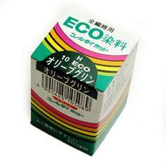 みや古染 eco染料 染め粉 コールダイホット col.10 オリーブグリン