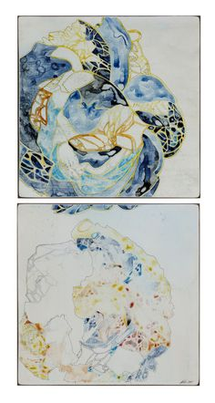 Belinda Fox(Aus) Abstract Nature, Abstract Art, Pen And Wash, Watercolor And Ink, Fabric Patterns, Art Boards, Amazing Art, Fox, Arts And Crafts