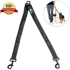 Are you tired of using two leashes to walk both of your dogs? Having to always untangle the leashes can be a pain. With our new heavy duty nylon leash coupler; you can use one leash to walk both dogs ...