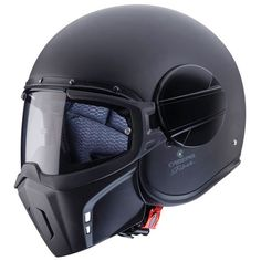 CABERG GHOST Cafe Racer Open Face Helmet