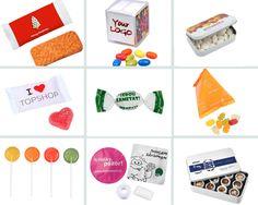 Régalez les papilles de vos convives avec nos #gourmandises publicitaires ! #bonbons #chocolats #sucettes #gâteaux #communication #objetpub