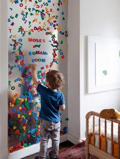 28 Most Adorable Diy Wall Art Projects For Kids Room Floor And . Top 28 Most Adorable DIY Wall Art Projects For Kids Room Floor And . Wall Art diy wall artTop 28 Most Adorable DIY Wall Art Projects For Kids Room Floor And . Magnetic Paint, Magnetic Toys, Magnetic Letters, Alphabet Magnets, Magnet Board Kids, Large Magnetic Board, Magnetic Boards, Magnetic Storage, Kids Bedroom Ideas