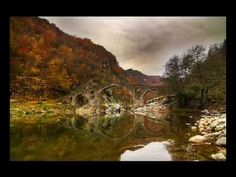 We challenge you: Dare to visit the Devil& bridge in BulgariaThe Devil& Bridge over the Arda river is one of the most picturesque bridges in Bulgaria (spelled Дяволски мост or Dyavolski most in Wanderlust, Autumn Scenes, Weird Pictures, Photo Essay, Classical Music, Bali, Beautiful Places, Amazing Places, Places To Visit