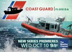 Coast Guard Florida....on The Weather Channel