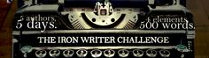 I have participated many times in the Iron Writer Challenge, and have been fortunate to win a few. In The Challenge 5 authors are given 4 disparate elements (in one case mine were a coconut, a whee...