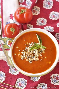 Tomato Soup by yourhomebasedmom, via Flickr