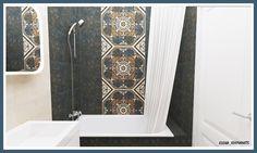Пример создания аккуратной ванной комнаты на маленькой площади, и к тому же недорогой по используемым материалам. Площадь помещения 3,5 кв.м. используемая плитка Kerama Marazzi индийской коллекции Кашмир. Мебель, раковина и зеркало из Икеа. Душевой набор и смеситель производства Grohe. Дизайн проект ванной комнаты в новостройке в городе Балашиха. #интерьердизайна #интерьер #дизайн #3dmax #vray #interiordesign #interior #design #кабинет #дизайнинтерьера #дизайнквартиры #дизайнпроект #ванна…