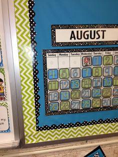 4th Grade Frolics: chevron and polka dots!