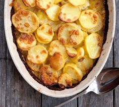 Potato Gratin with Gruyere and Garlic