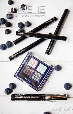 Blueberry eye make up novelties by blogger @Mrs V  #lumene