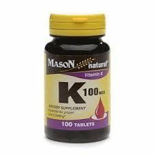 Mason Natural Vitamin K, 100 Mcg, Tablets - Ea Fat Burning Supplements, Fat Burning Detox Drinks, Diet Plan Menu, Natural Vitamins, Food Print, Healthy Life, The Cure, Fat Burner, Irvine Hotel