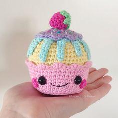 Cupcakes PDF Pattern amigurumi crochet