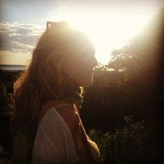 My beautiful friend Kajsa