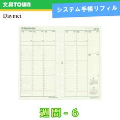 What I'm using now: Raymay Davinci Bible size Vertical Weekly pages (DR1516) with Tomoe River paper
