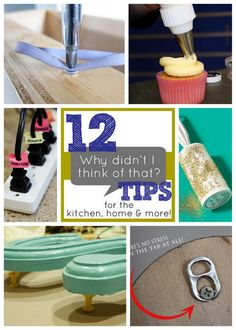 12 brilliant household tips and tricks that will have you wondering why you didn't think of them before!