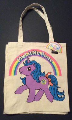 Primark My Little Pony Retro Canvas Tote Shopper Shopping Shoulder Bag