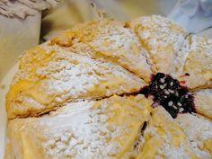 A Cozinha do Titó: Tarte Folhada de Limão Camembert Cheese, Dairy, Food, Powdered Sugar, Phyllo Dough, Cook, Gastronomia, Tips, Pie