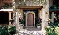 Photo Gallery: French / Italian / Tuscan / Mediterranean Style | Architectural Traditions | Crafted Doors Windows and Hardware