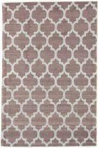 Kelim Jaquard Teppich, Braun, Grau, 250x165 cm, Indien, Rechteck