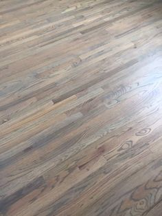Red Oak wood Floors With Classic Grey and Weathered Oak Stain Hardwood Floor Stain Colors, Grey Hardwood Floors, Red Oak Floors, Refinishing Hardwood Floors, Floor Refinishing, Red Oak Stain, Red Oak Wood, Wood Stain, Minwax Stain