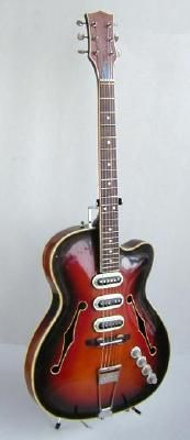 Defil Hagstrom Jolana Musima Alko Guitar - Chris Wawer's Guitar Collection