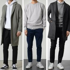 minimalist fashion How To Build A Minimalist Wardrobe For Men Minimalist Wardrobe Men, Minimalist Fashion, Minimalist Style, Minimalist Outfits, Outfit Hombre Formal, Urbane Mode, Mode Man, Men With Street Style, Style Men