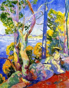 Morning at Cavaliere, 1906 -  Henri Manguin (1874- 1949)