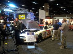 Broadcasters filled the exhibition hall, reporting on the latest PRI innovations.