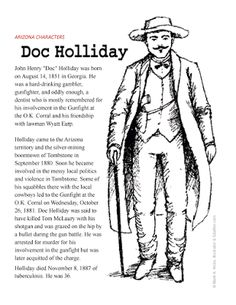 2d4548f1fc6c3 Carefree Artist  Doc Holliday and the O.K. Corral Shootout On October 26